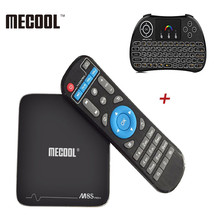 MECOOL M8S Pro+ Android 7.1 Amlogic S905X PRO TV Box 2.4GHz WiFi Support 4Kx2K 1G 8G 2G 16G Smart Set-top TV Box Media Player