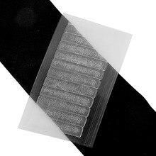 Neitsi 10 hojas 120 pestañas sin brillo de un solo lado US cinta para caminar para extensiones de cabello de cinta