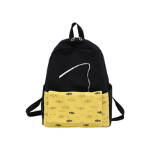 New Shoulder Bags for Women Fashion Composite Bag Backpacks Teenage Girls Female Canvas School Cute 2 Set