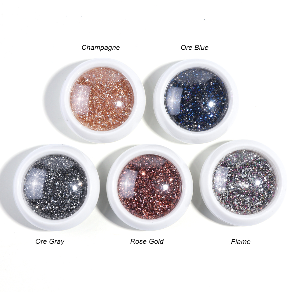 Mini Beads Nail Art Crystal Rhinestone0