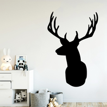 Romantic Deer Animal Lover Vinyl Wall Stickers For Kids Baby Room Pvc Decals Mural Bedroom Decor vinilo pared