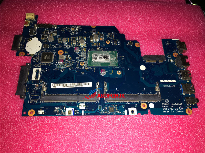 Original nbml81100b for Acer Aspire E5 571 laptop Motherboard System Board with i3 5005u La b161p 100% TESED OK