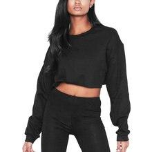 013f111b460e Popular Black Crop Top Hoodie for Girls-Buy Cheap Black Crop Top ...