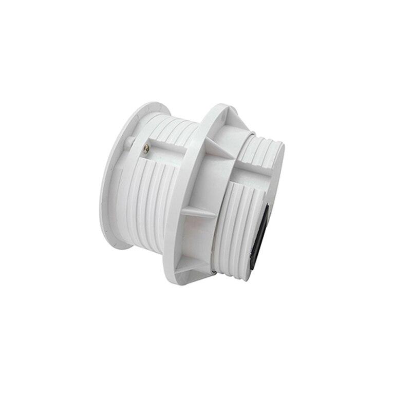 Prise de bureau polyvalent de puissance ronde blanche Pure avec 1 prise de courant de l'ue, 2 Charge d'usb pour la cuisine d'hôtel de bureau adaptée aux besoins du client - 2