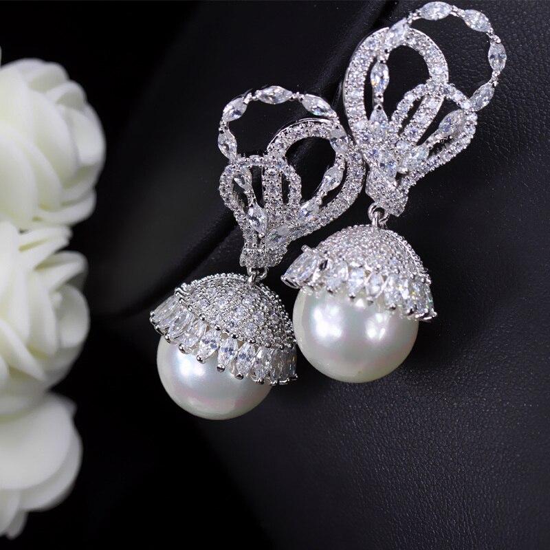 Pearl Drop Earrings1