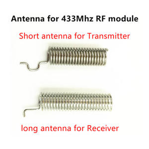 Image 5 - 433 Mhz Superheterodyne RF Receiver and Transmitter Module ASK kits with antenna For Arduino uno Diy kit 433Mhz Remote controls