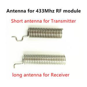 Image 5 - 433เมกะเฮิร์ตซ์Superheterodyneรับสัญญาณความถี่คลื่นวิทยุและโมดูลส่งสัญญาณASKชุดที่มีเสาอากาศสำหรับA Rduino uno Diyชุด433เมกะเฮิร์ตซ์ระยะไกลควบคุม