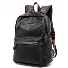 PU large space men's leather backpacks male students casual for school shoulder bags mochilas gravity falls