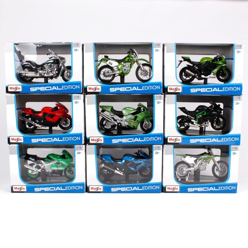 1:18 Scale Maisto Kawasaki Ninja H2R H2 diecast bike racing motorcycle model toy