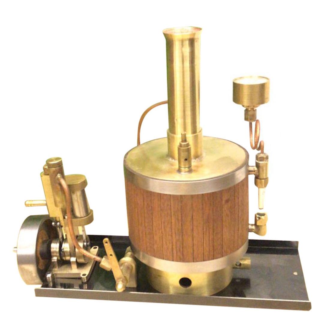Mini modèle de moteur à vapeur chaud avec chaudière et ensemble de Base modèle de technologie de puissance à vapeur jouet expérimental de production d'énergie scientifique