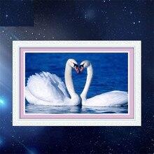 """5D quente Cheia de diamantes pintura ponto cruz """"Coração a coração"""" diamant agulha de bordado patch de strass mosaico kit Casa decoração"""