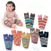 Baby-Leg-Warmers 1-Pairs Air-Conditioning Toddler Knee-Length Baby-Boys-Girls Striped
