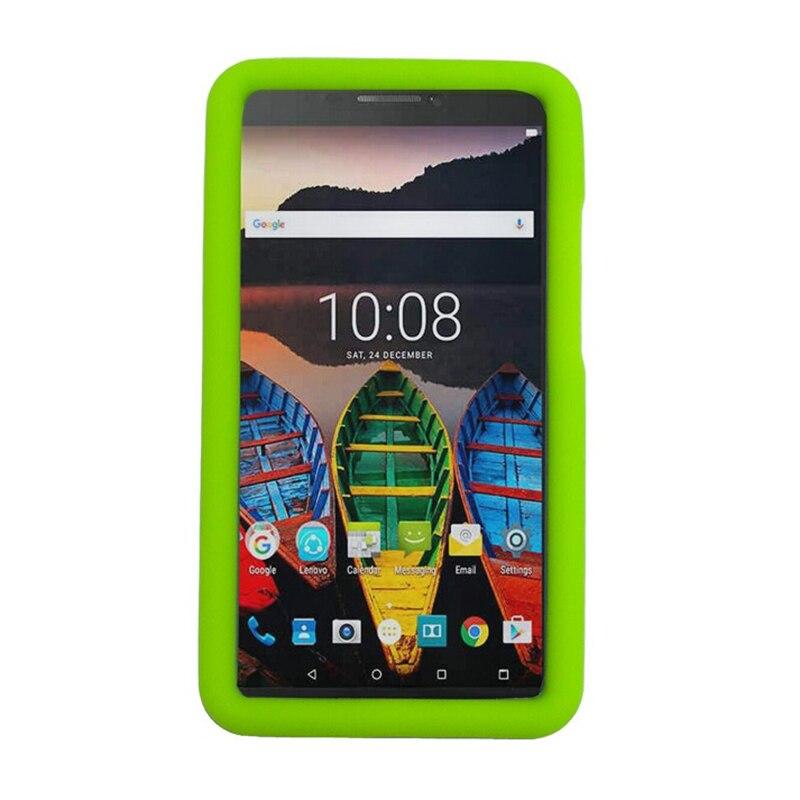 MingShore Za Lenovo Tab 3 7 Plus 7.0 Izdržljiva otporna na udarce Silikonska mekana torbica za Lenovo TB-7703X TB-7703F 7.0 Tablet pokriven