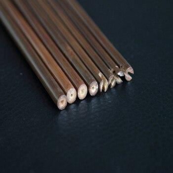 Wysokiej Jakości 10/20/40 Sztuk 84cm Bambusa Strzałka Wał Z OD 7.5mm 8mm 8.5mm DIY Bambusa Strzałka łucznictwo Strzały Na Polowanie