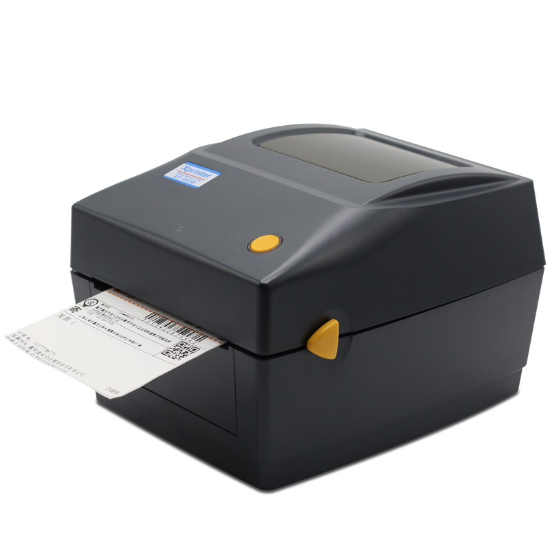 XP-460B 108mm Max Width Direct Thermal Barcode Lable Printer To Print Shipping Mark Express Label With Outside Paper Roll Stand