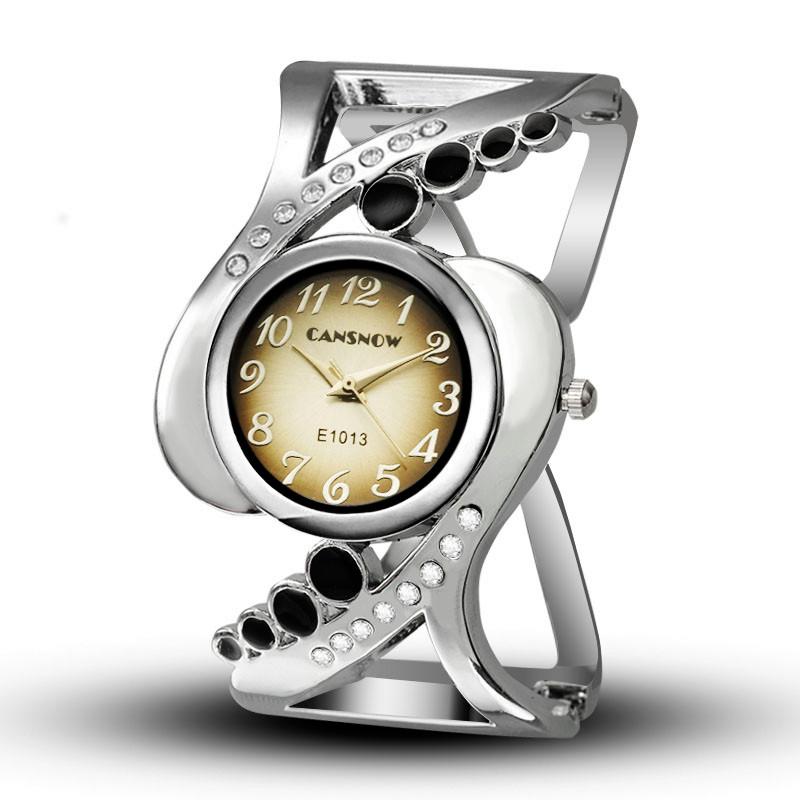 New design women bangle wristwatch quartz crystal luxury relojes rhinestone fashion female watches hot sale eleagnt mujer watch 10