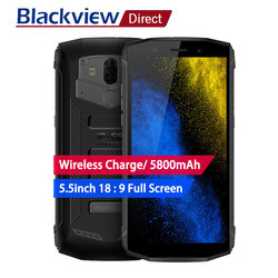 Blackview BV5800 Smartphone Android 8.1 IP68 Waterproof 5.5 inch18:9 HD Full Screen Dual Rear Camera Mobile Phone NFC Cell Phone