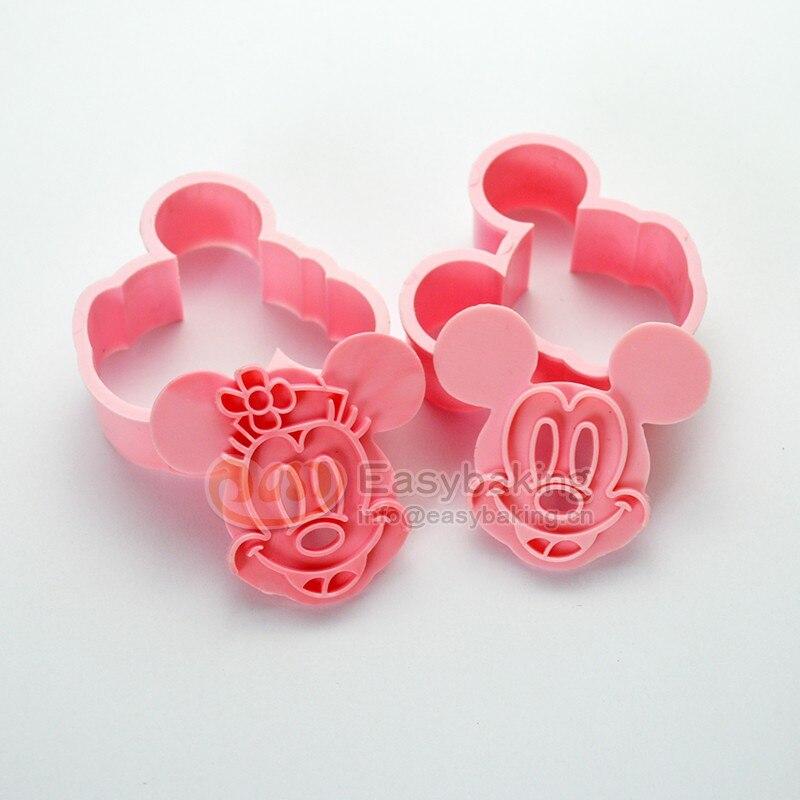 Kuche Backformen Backenwerkzeuge 3d Keks Minnie Mickey Mouse