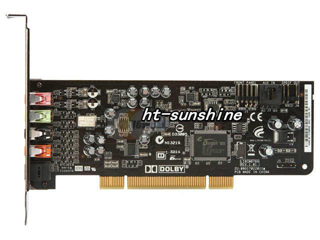 מקורי בשימוש עבור ASUS XONAR DG PCI 5.1 כרטיס קול, 100% נבדק טוב!