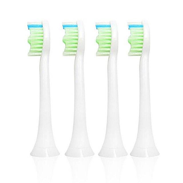 2016 nueva venta 16 unids limpieza dental cepillo de dientes de reemplazo de cabezas de cuidado de la higiene oral utilizado con eletric ajustes para philips sonicare