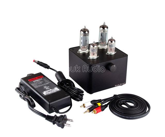 Douk Áudio Últimas Mini 6J1 2 6P1 2 Amplificador Valvulado Single-ended  Classe a1bc62889a