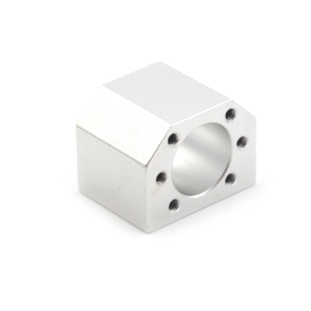 1 Pcs Ballscrew Nut Housing Bracket Holder Aluminium Alloy Material For 1604 1605 1610 DSG16H набор одноразовых стаканов buffet biсolor цвет оранжевый желтый 200 мл 6 шт
