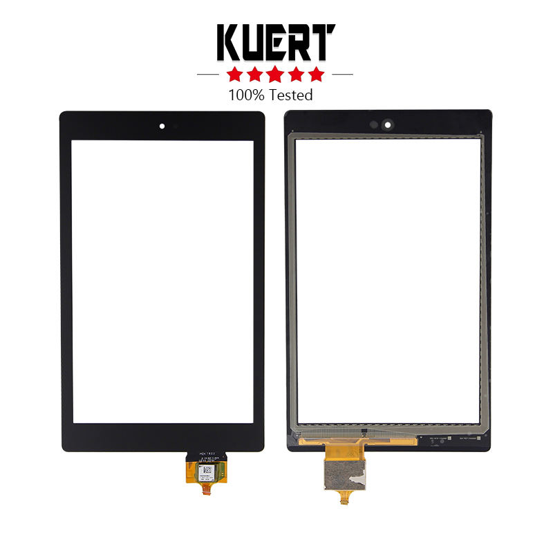 Free Shipping For Amazon Kindle Fire HD 8 6th HD8 Digitizer Touch Screen Replacement for 2012 amazon kindle fire hd 7 touch screen digitizer lcd display assembly with frame replacement free shipping