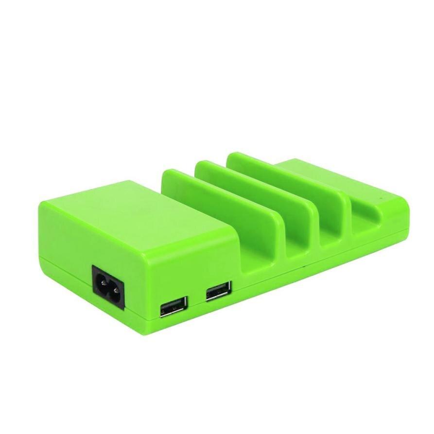 Зарядное устройство и кабель USB 2017 Новый горячий Универсальный 4 USB Multi-Порты и разъёмы зарядка через USB станции Путешествия стены Зарядное ус...
