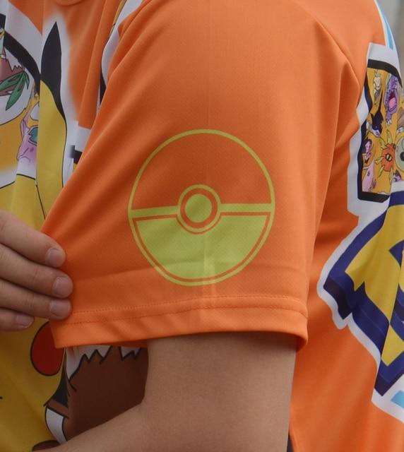 Аниме футболка Покемоны полноценная печать 2