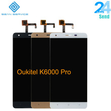 For Original Oukitel K6000 Pro LCD in Mobile phone LCD Displ