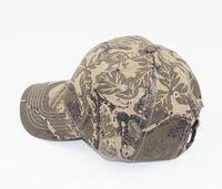 חמה למכירה Mens צבא צבאי הסוואה קמפינג טיולי ציד Camo Cap כובעים לגברים ציד הסוואה שווי