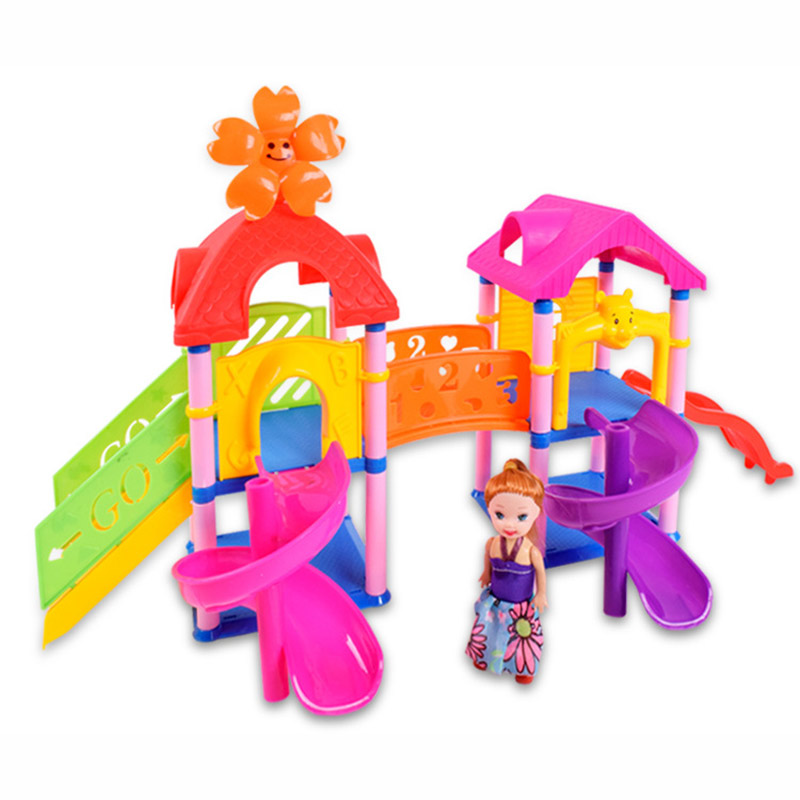 DIY assembly park building blocks / children every family toys/educational toys for children/baby toys/toy/lepin building комлев и ковыль