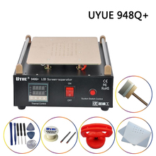 цена Mobile Phone LCD Screen Separator Uyue 948Q + Built-in Vacuum Pump Max. 11-inch Glass Touch Screen Renovation