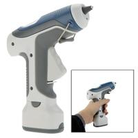 GK 368 Portable 7W/6V Cordless Hot Melt Glue Gun With LED Lights For DIY Model Living Craft 3pcs 7mm Sticks Free