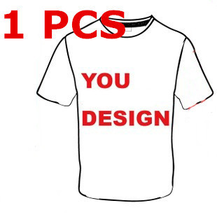 1 Pcs Custom Made 100% Cotton Thermal Transfer Technology T-shirts,No Fade Colorful Forever,For Men Women Children
