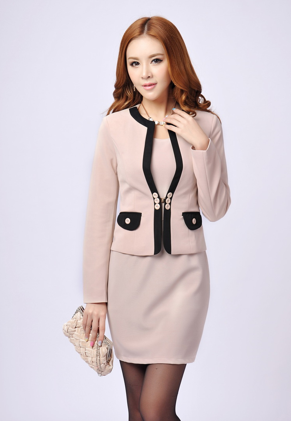 High Quality 2013 New Autumn Winter Fashion Women Sets Office ...