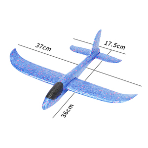Image 3 - 4pcs Airplane Hand Throwing Foam Plane Model Children Outdoor Flaying Glider Toys EPP Resistant Breakout Aircraft for kids