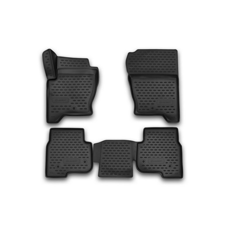 Фото - Car Mats 3D salon For LAND Rover Discovery 4 2014->, 4 PCs (polyurethane) car mats 3d salon for land rover freelander 2 2013 4 pcs polyurethane