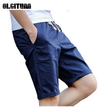 Hot Sale 2019 New Casual Men Shorts Summer Elastic Waist Sli