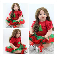 24 inch Bebe Baby Doll Reborn Soft Silicone Boy Girl new arrival lifelike baby reborn toys for kid's birthday gift reborn dolls