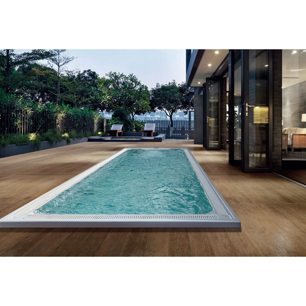 US $26464.0  Seaside Luxurious Swimming and massage Leisure Area swimming  pool Embedded endlesspool Against the Current -in Spa Tubs from Home ...