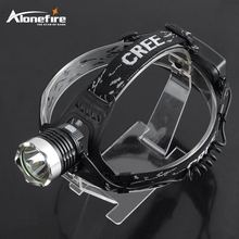 AloneFire HP91 headlamp xml t6 led head light Headlight Camping Flashlight Head Light Torch Lamp