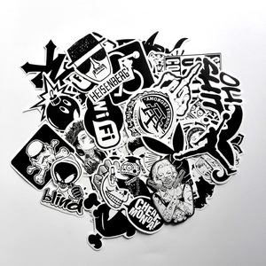 Image 3 - BEMOST Car Styling 60 pcs Funny Car Stickers on Motorcycle Suitcase Home Decor Phone Laptop Covers DIY Decal Waterproof Sticker