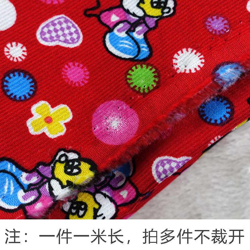 JaneYU Tessuto di Velluto A Coste Del Cotone Del Fumetto 2019 Nuova Primavera E L' Estate Scarpe fatte A mano In Tessuto Fai Da Te della Mamma