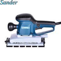 Sheet Sander With 8 Sheets Of Sandpaper And Dust Exhaust Power Tools Electric Sander Sanding Machine AT3505