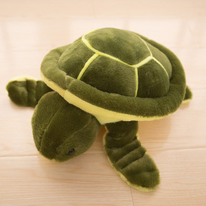 Super Cute 23cm-50cm Green Sea Turtles / Tortoise Plush Toys Lovely Nici Turtle Soft Stuffed Animals Doll Pillow Baby Kids Gifts(China)