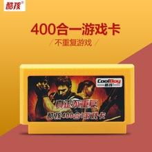 Coolbaby 400/500/180/380 em 1 Jogos Clássicos Coleção 8 Pouco 60 Pinos Do Cartão de Jogo Para consola de jogos de vídeo Cartão de Memória