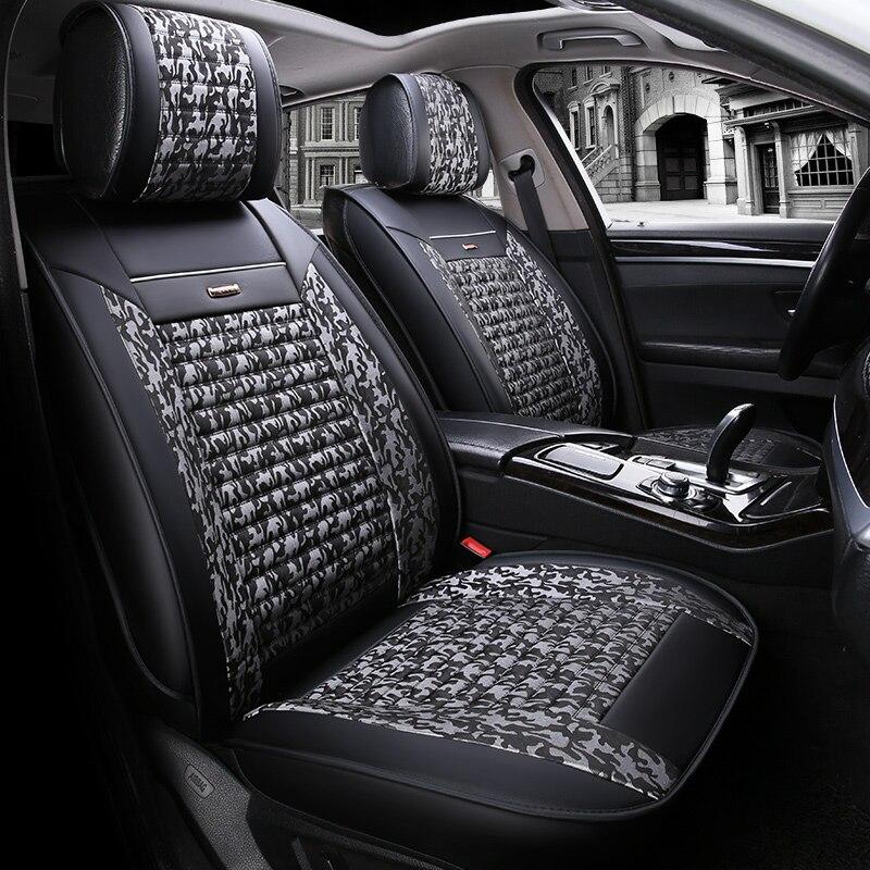 Сиденья чехлы сидений протектор для Skoda Fabia 1 2 3 kodiaq octavia 1 2 A5 A7 RS 2018 2017 2016 2015