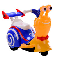 2018 New Electric Tricycle Children Motorcycle Cartoon Charging Boys Toy Car Kids Electric Ride on Car Snail Ride on Toys Car