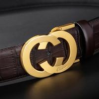 Ciartuar Leather Belts for Men Genuine Leather Belt Male Casual Business High Quality belt Jeans Fashion Waist Designer Belt